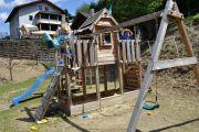 Spielplatz-Schaukel-Haus